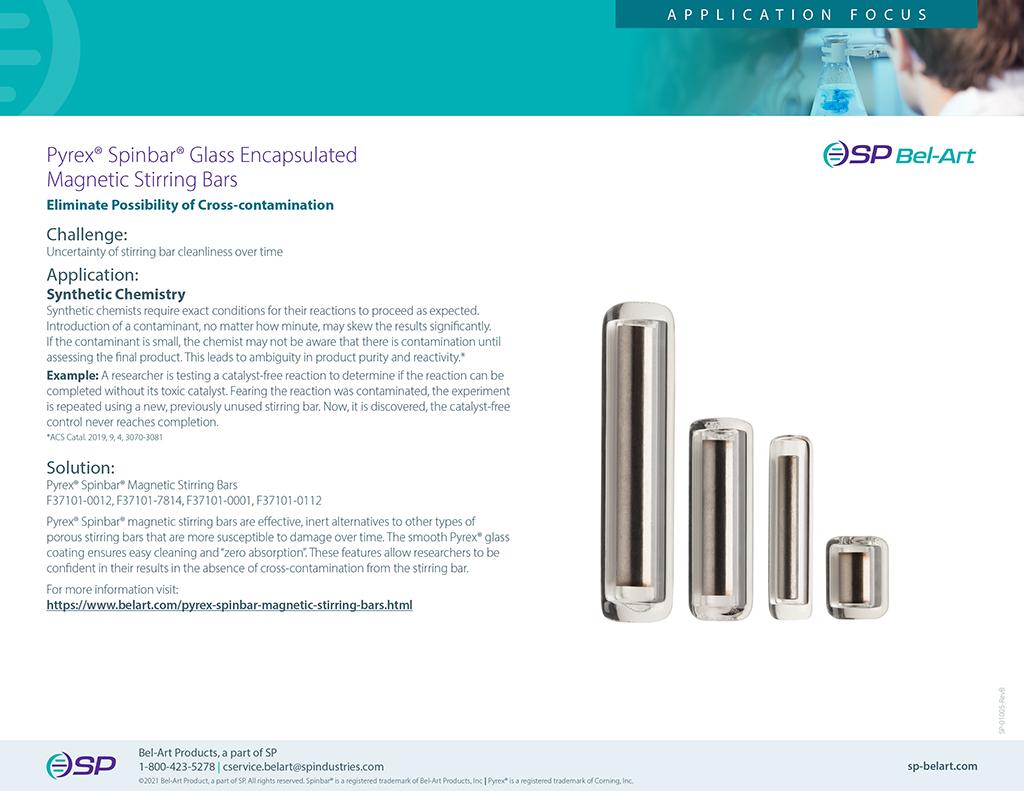 Image:  Pyrex Spinbar Magnetic Stirring Bars _Application Focus