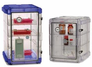 Image: Secador Desiccator Cabinets_standard, automatic, gas-ported desiccator