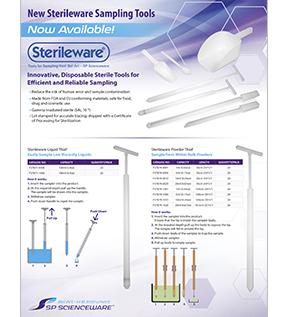 Image: New Sterileware Sampling Tools