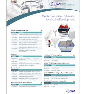 Image: Media Formulation and Transfer for Vaccine Development