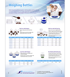 Image: Wilmad-LabGlass Weighing Bottles