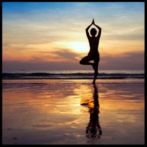 Image:  Yoga Balancing Act