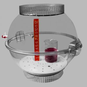 Techni-dome_vacuum or gas-ported desiccator