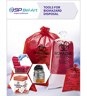 Tools for Biohazard Disposal by SP Bel-Art