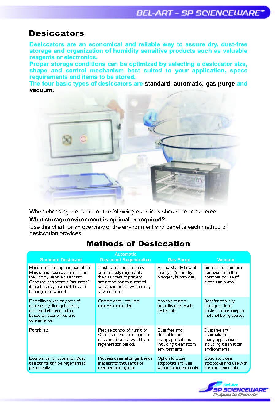 SP Scientific Dessicator Whitepaper