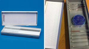 Image:  Polyethylene Slide Mailer Jar - Ask Lab Guy - SP Scienceware