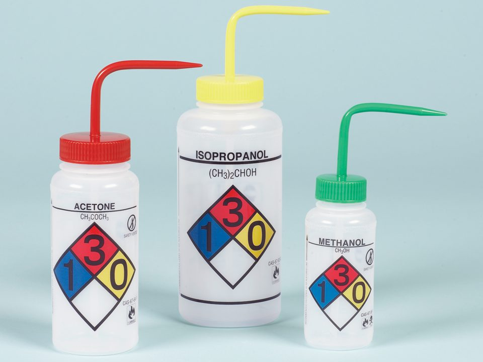 Image: GHS Wash Bottles - Ask Lab Guy