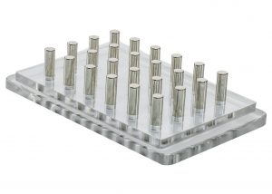 Bel-Art Magnetic Bead Separation Rack for 96-Well PCR Tube Plate   Ask Lab Guy