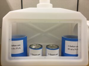 Image:  Glove Box version of Scienceware Small Molded Benchtop Fume Hood H50000-00002