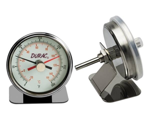Image: H-B DURAC MAXIMUM REGISTERING : AUTOCLAVE BI-METAL THERMOMETER