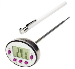 Image: SP Bel-Art H-B Durac Calibrated Stainless Steel Stem Thermometers