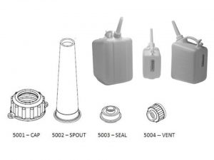 Image: SP Bel-Art Jerricans and replacement parts