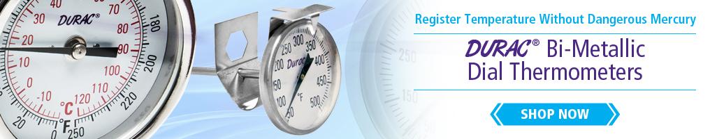 Bi-Metallic Dial Thermometers