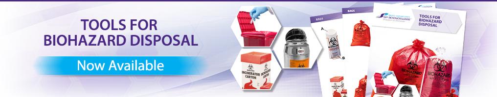 Tools for Biohazard Disposal Catalog- International