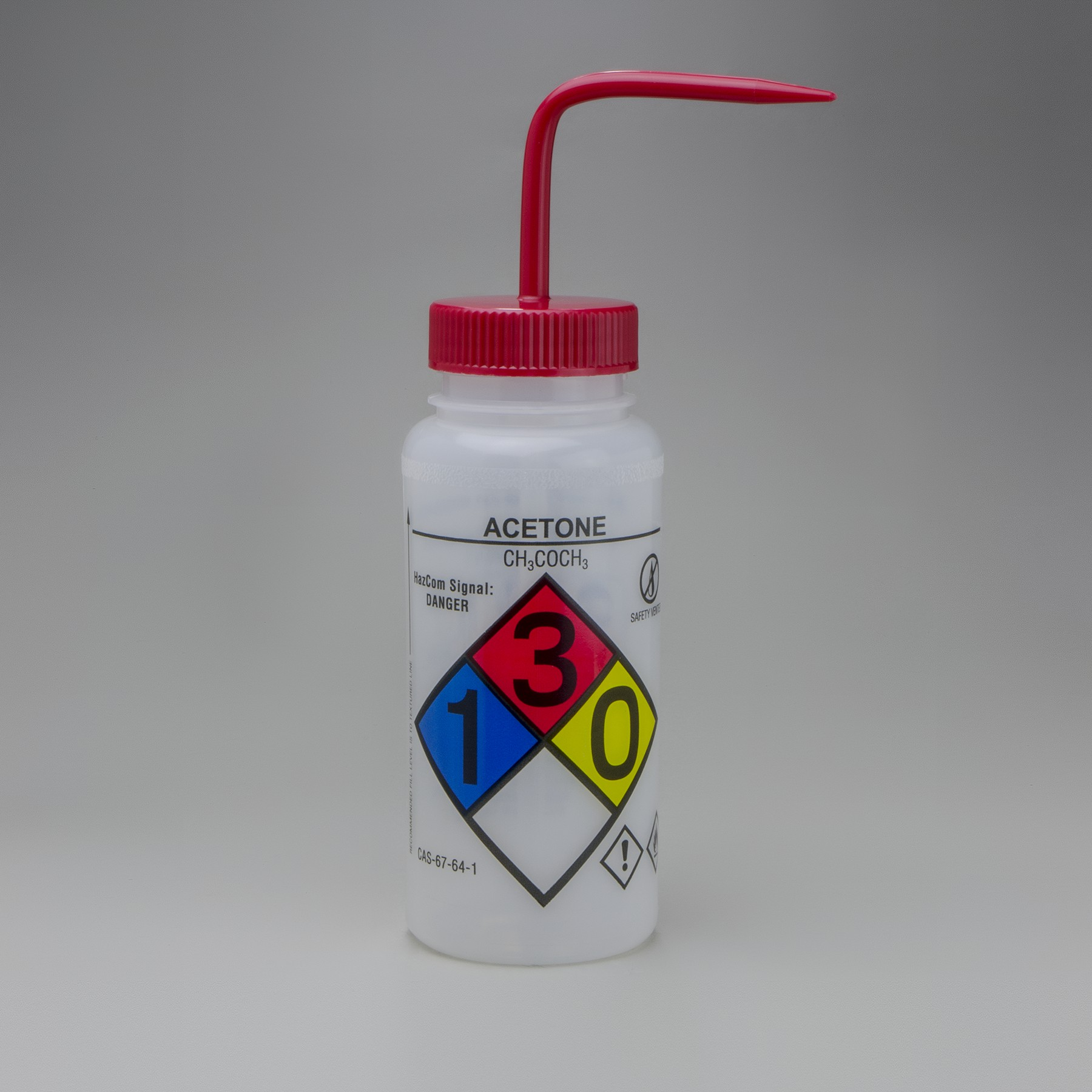 It is a picture of Smart Ghs Label Wash Bottles