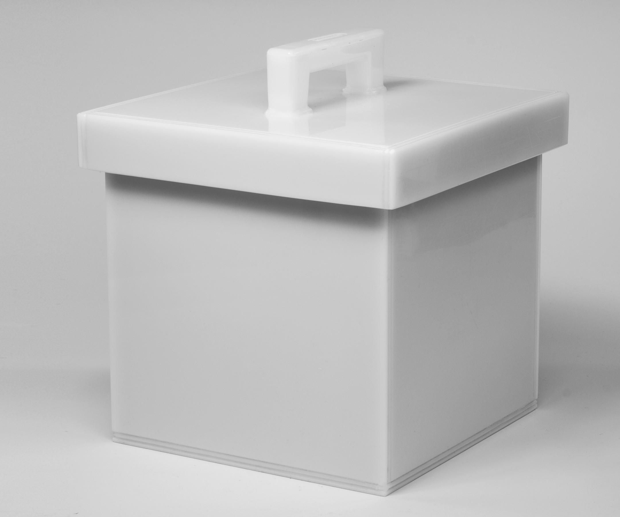Bel Art Lead Lined Polyethylene Storage Box 25L x 25W x 25cmH