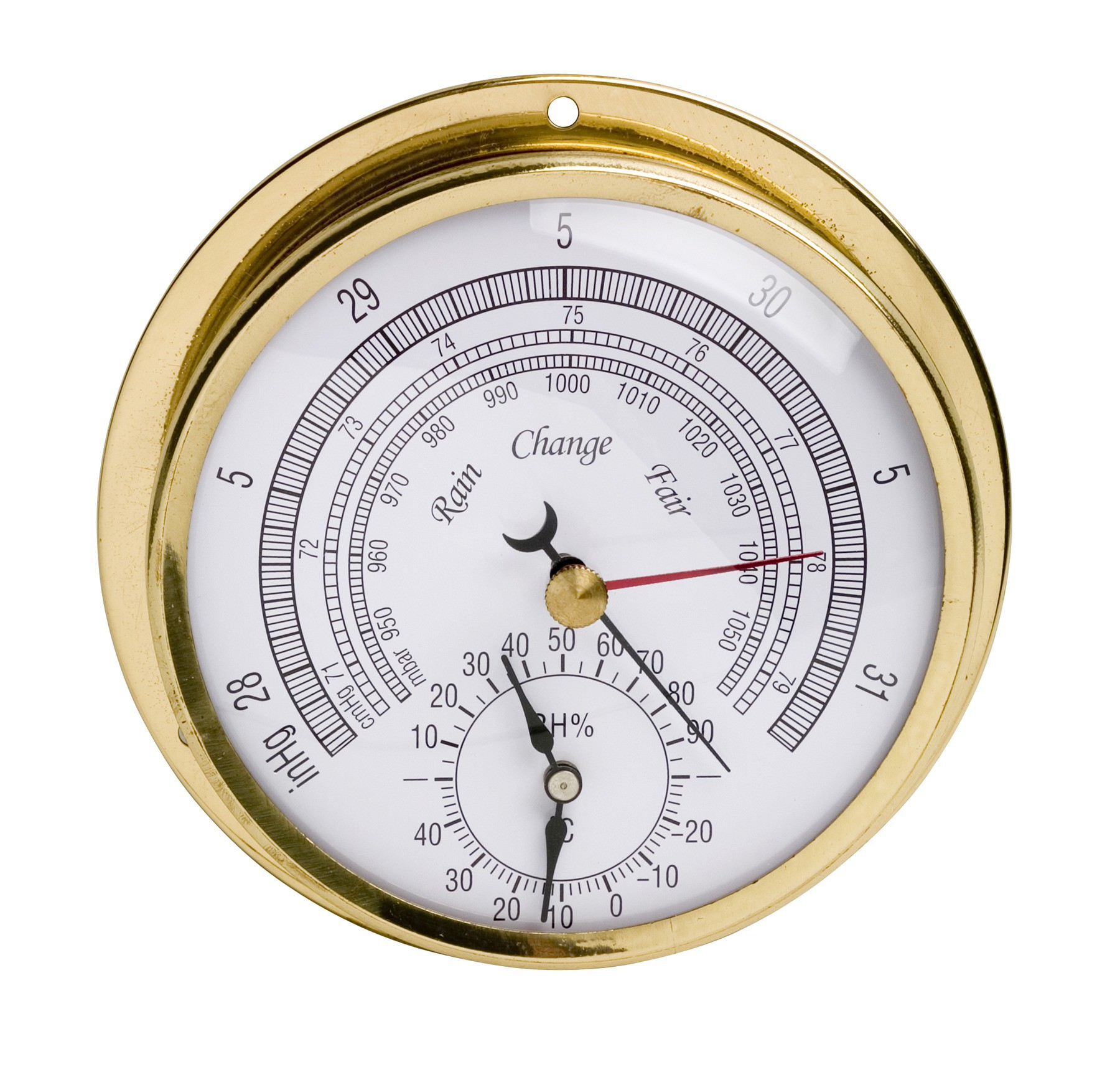 / WEATHER INSTRUMENTS / H B DURAC Thermometer Hygrometer Barometers #644817