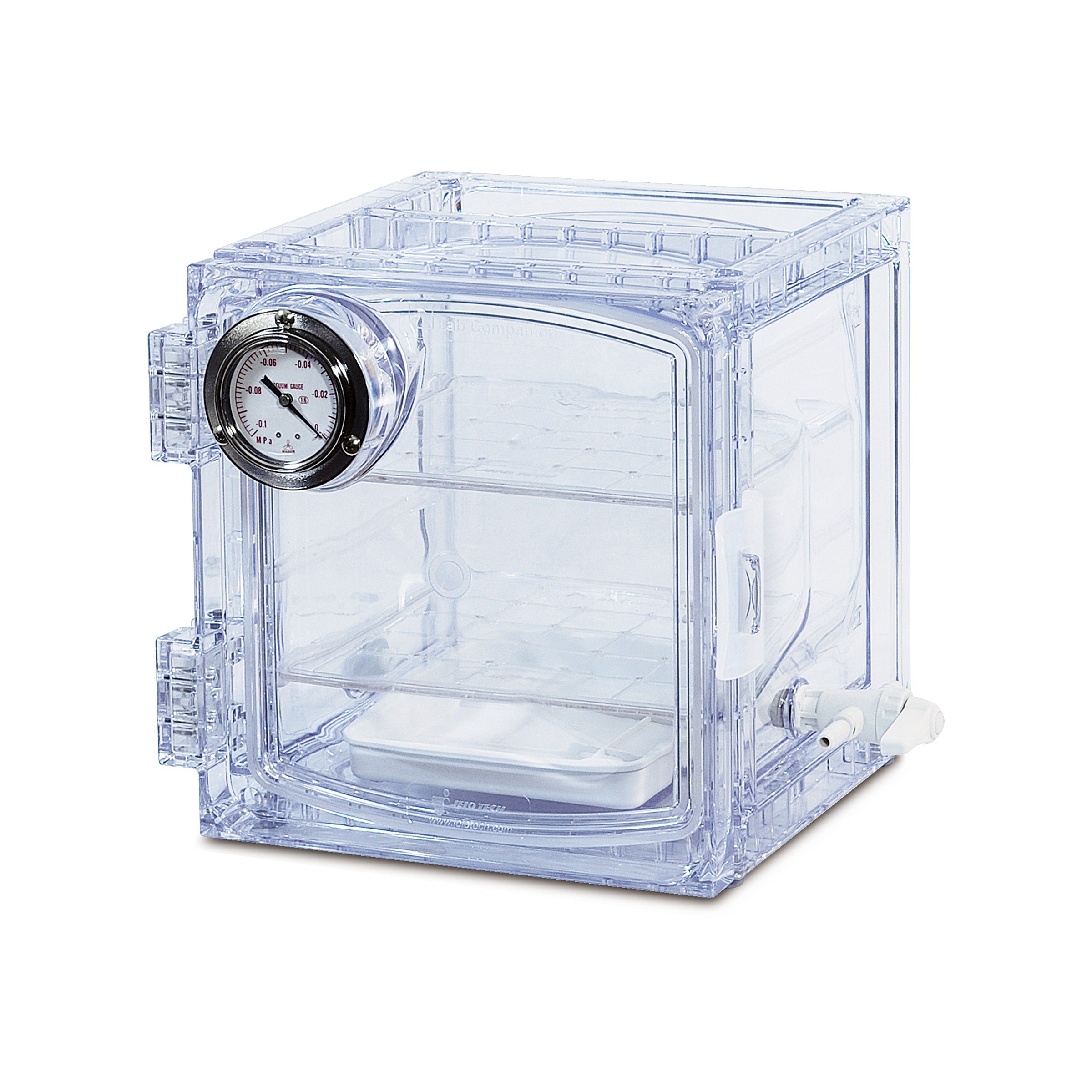 Bel-Art Lab Companion Clear Polycarbonate Cabinet Style Vacuum ...