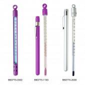 H-B DURAC Plus Pocket Liquid-In-Glass Thermometers, Organic Liquid Fill