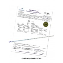 H-B DURAC® Plus™ Individually Calibrated ASTM Liquid-In-Glass Thermometers, Organic Liquid Fill