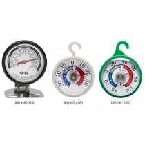 H-B DURAC Bi-Metallic Refrigerator/Freezer Thermometers