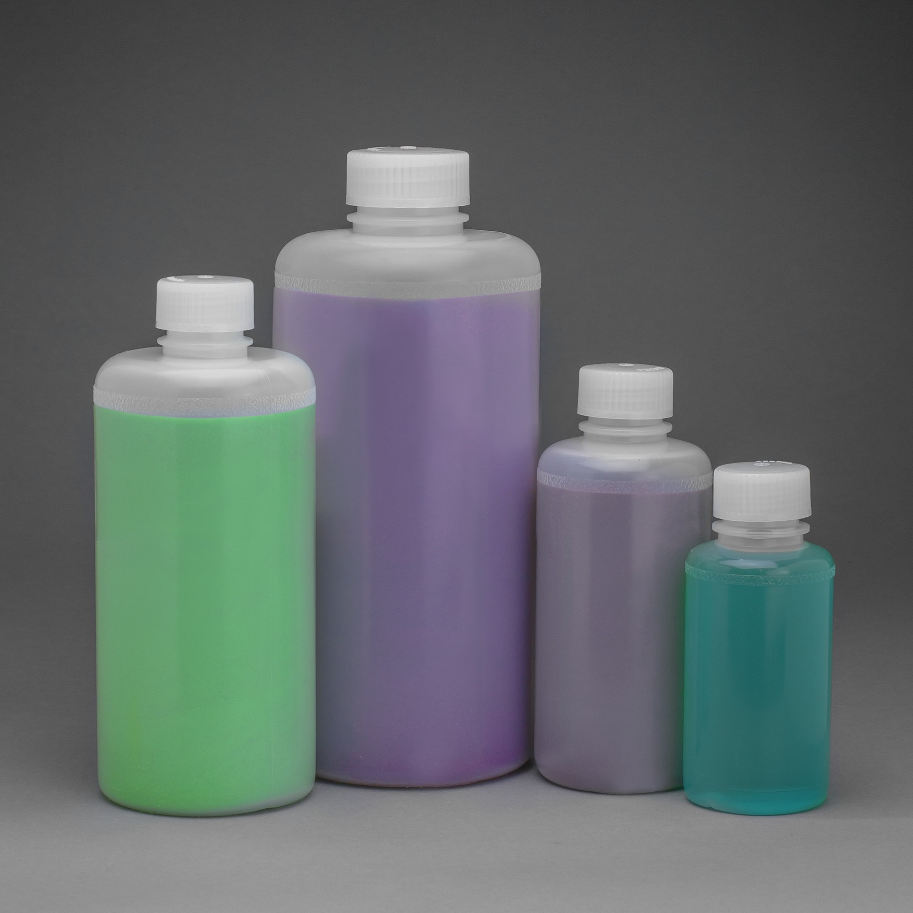 38mm Closure Pack of 6 Bel-Art Precisionware Narrow-Mouth 1000ml 32oz F10620-0008 High-Density Polyethylene Bottles; Polypropylene Cap