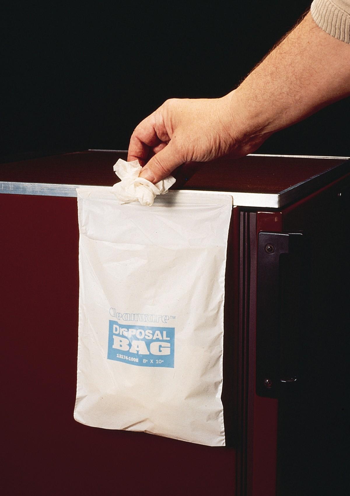 Self Adhesive Waste Bags – Cleanware