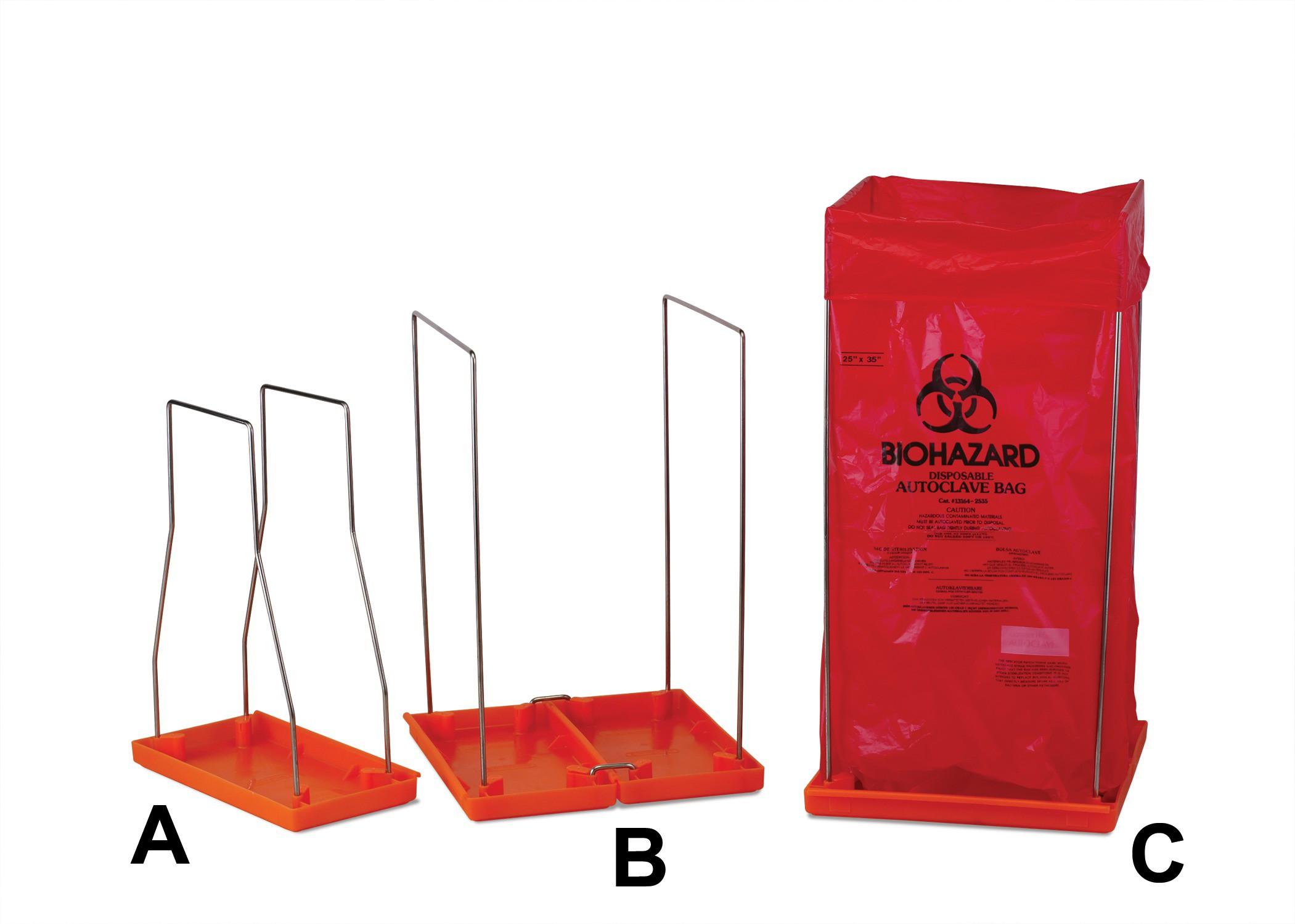 Biohazard Bag Holders Clavies
