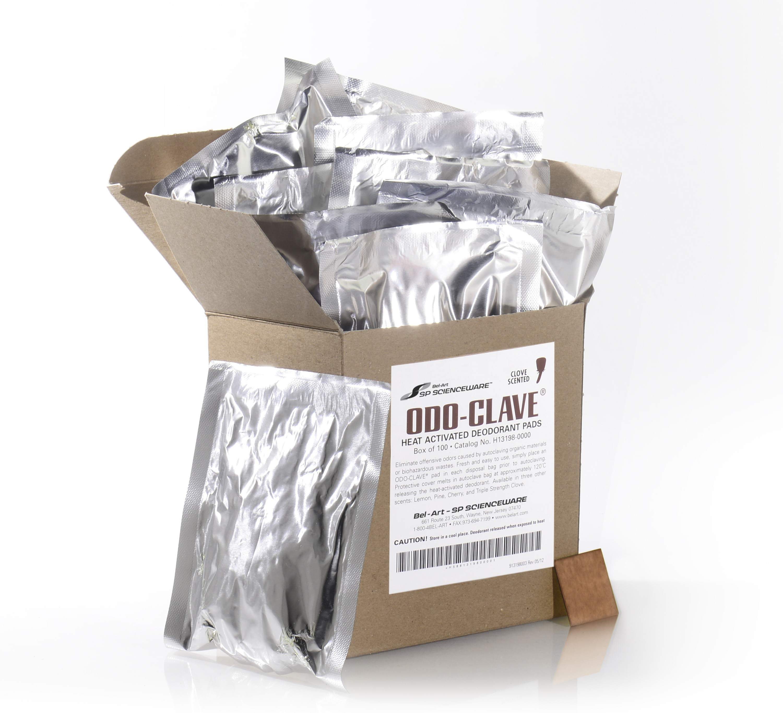 SP Bel-Art Odo-Clave Autoclave Deodorizer; Clove Scent (Pack of 100)