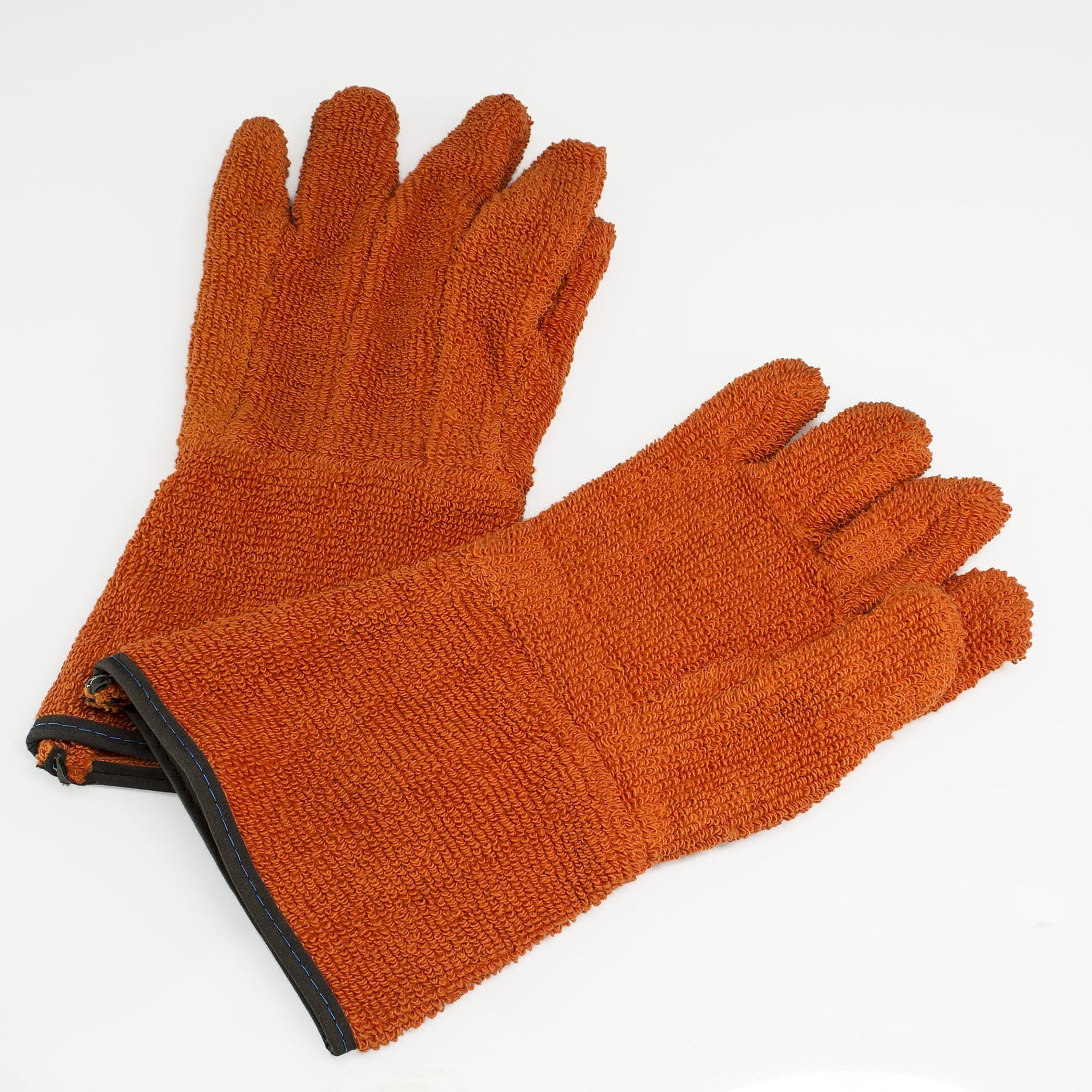 SP Bel-Art Clavies Heat Resistant Biohazard Autoclave/Oven Gloves; 5 in. Gauntlet