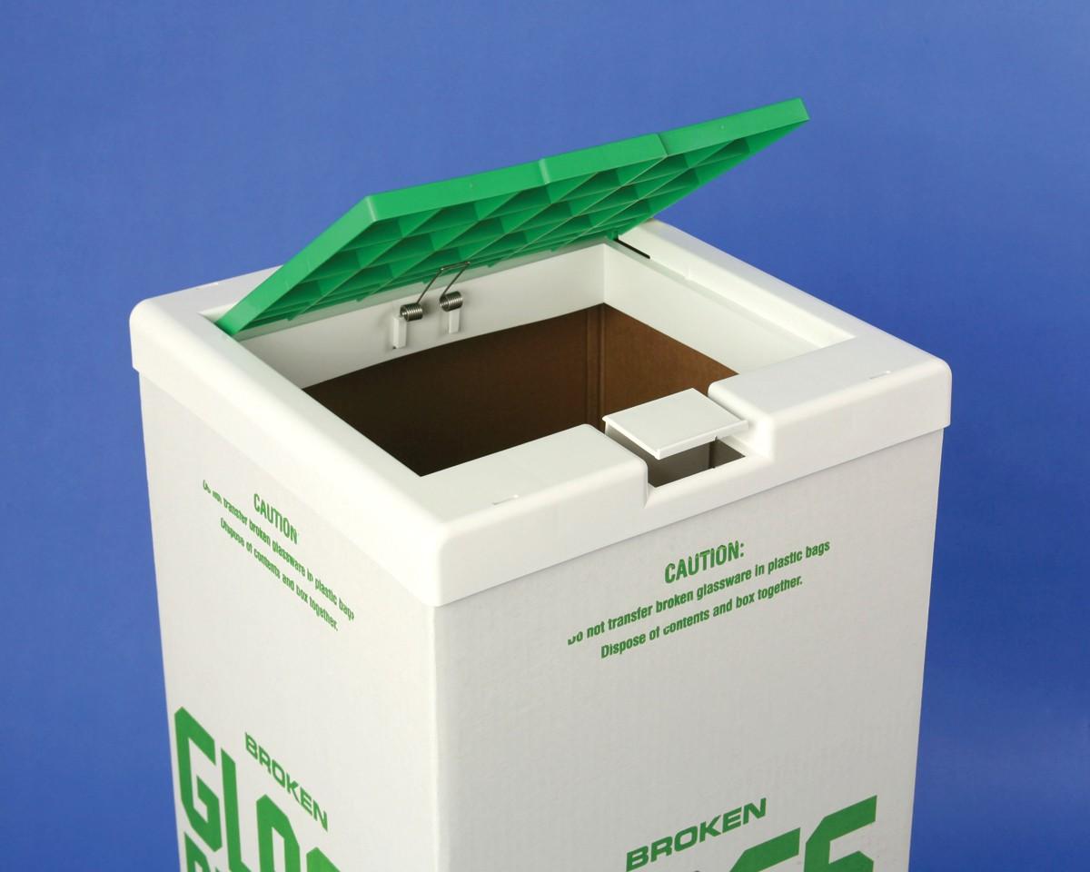 Cover for Glass Disposal Carton