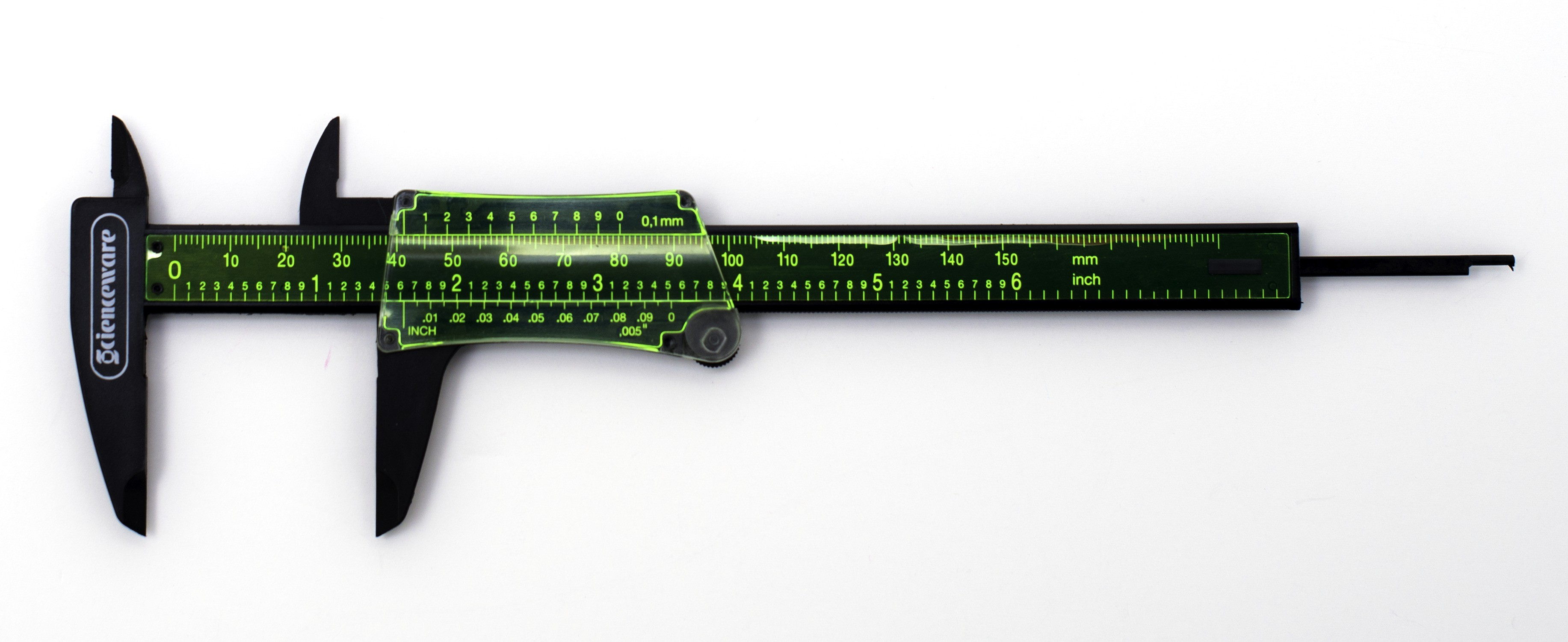 SP Bel-Art Vernier Calipers with Metric and English Scales