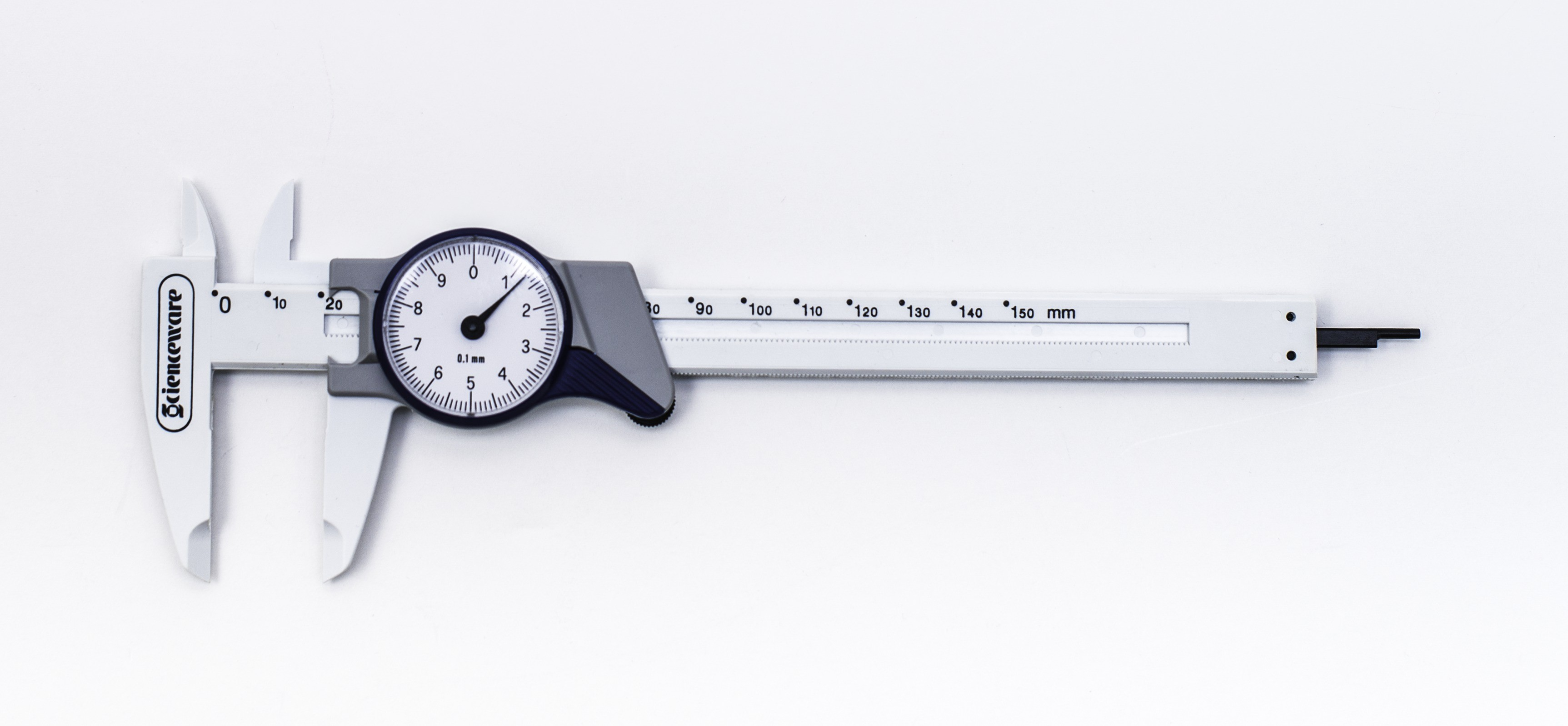 SP Bel-Art Dial Calipers with Metric Scales