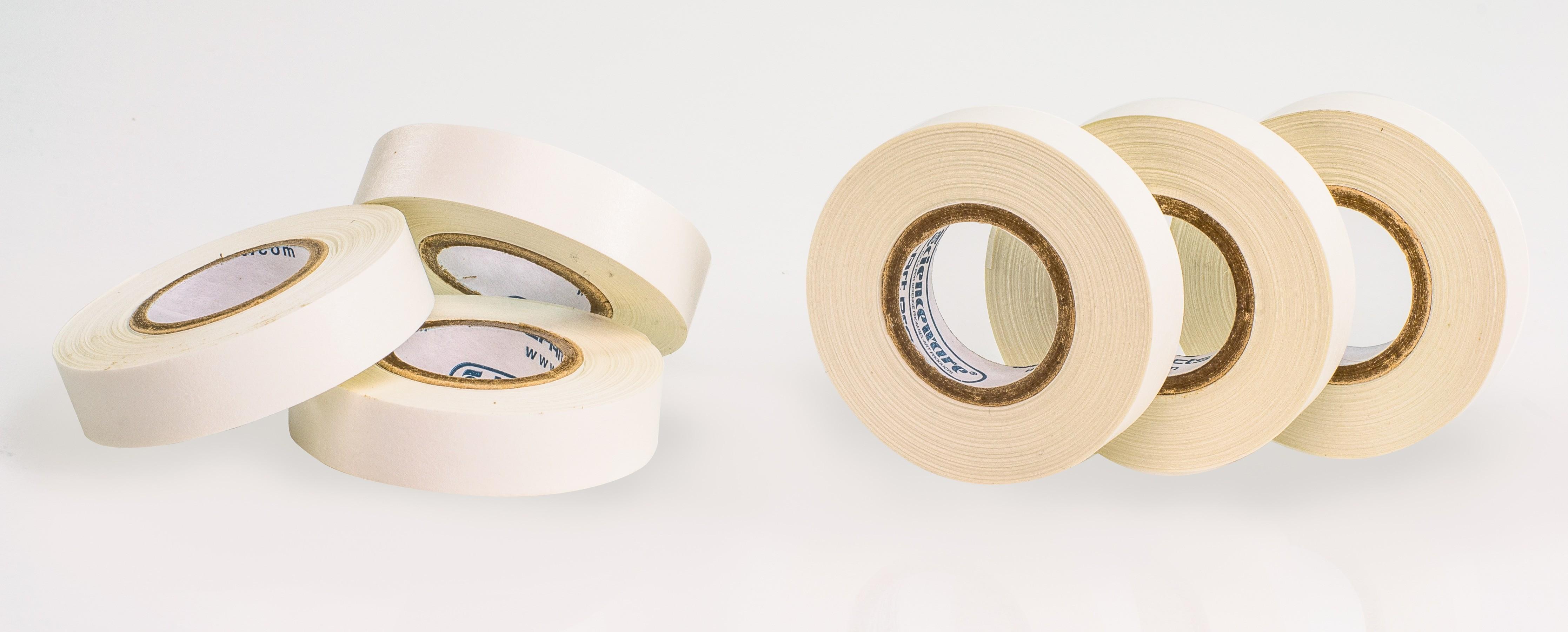 SP Bel-Art Write-On White Label Tape; 15yd Length, ¹/₂ in. Width, 1 in. Core (Pack of 6)