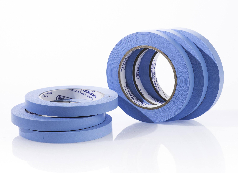 SP Bel-Art Write-On Blue Label Tape; 40yd Length, ¹/₂ in. Width, 3 in. Core (Pack of 6)