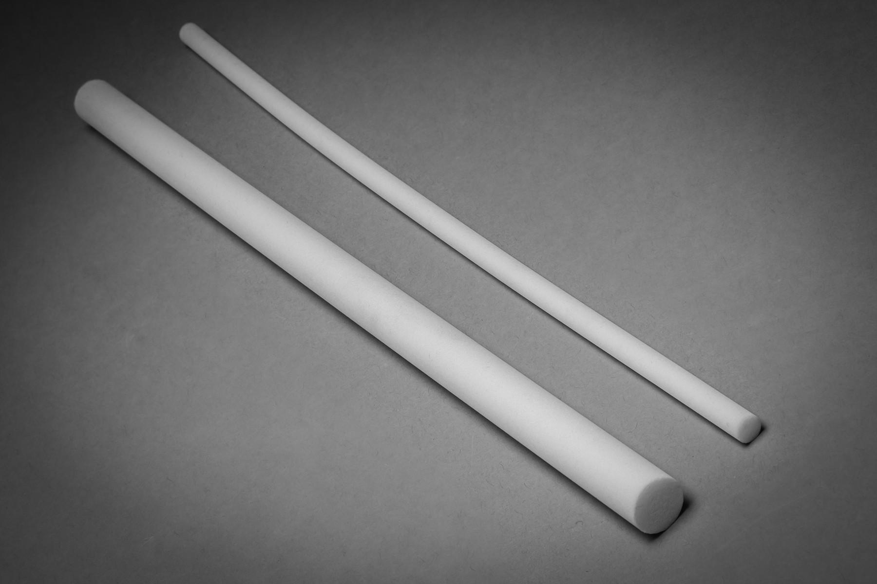 Fritware Porous Rods