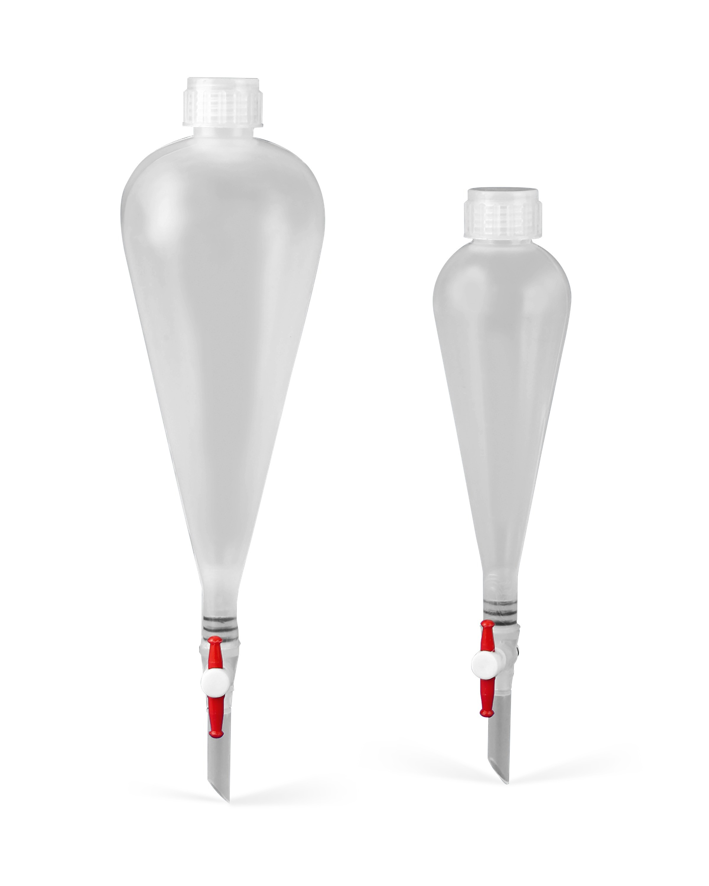 Squibb Pear-Shaped Separatory Funnels