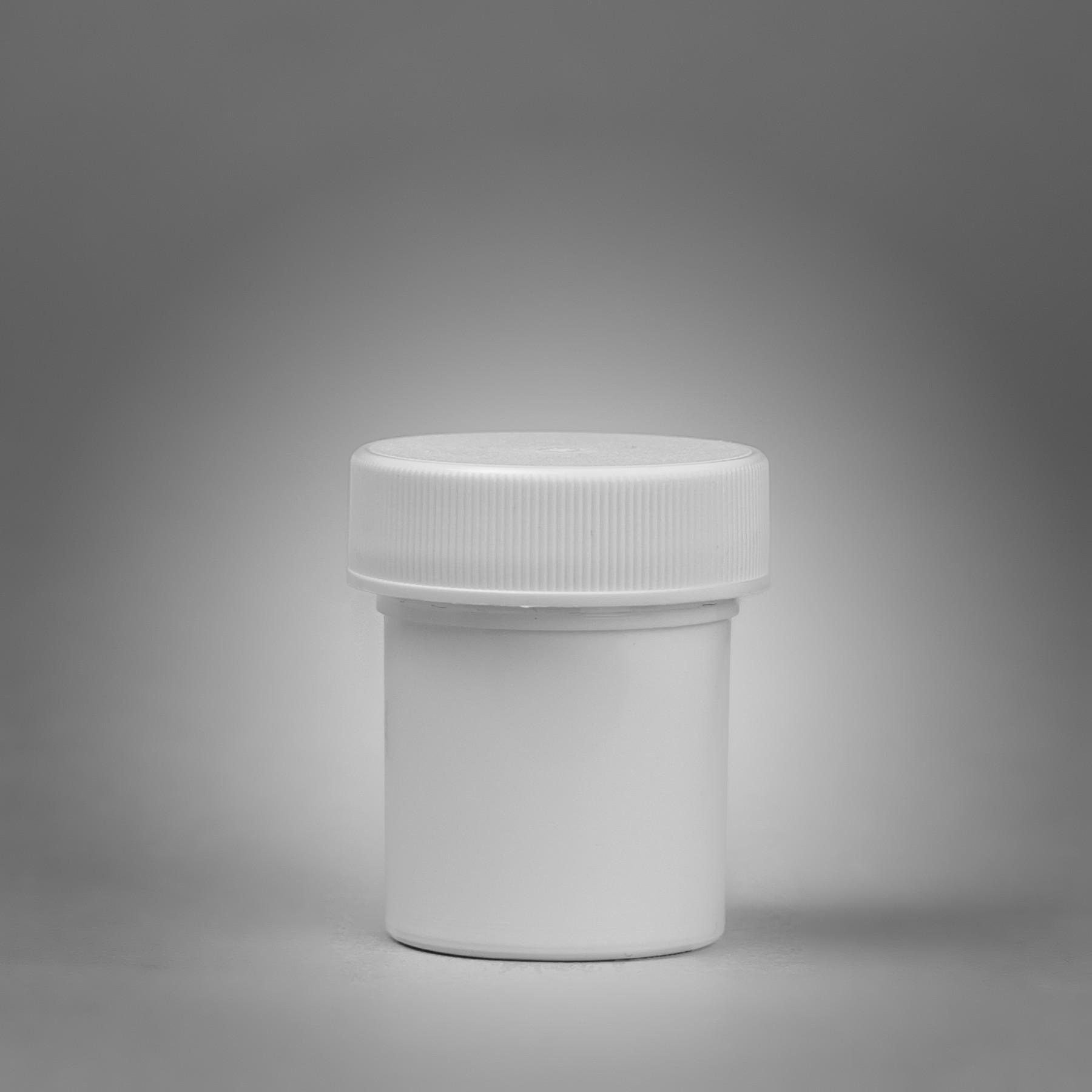 SP Bel-Art Screw Cap 29.6ml (1oz) Polypropylene Jars; 43mm Closure (Pack of 12)