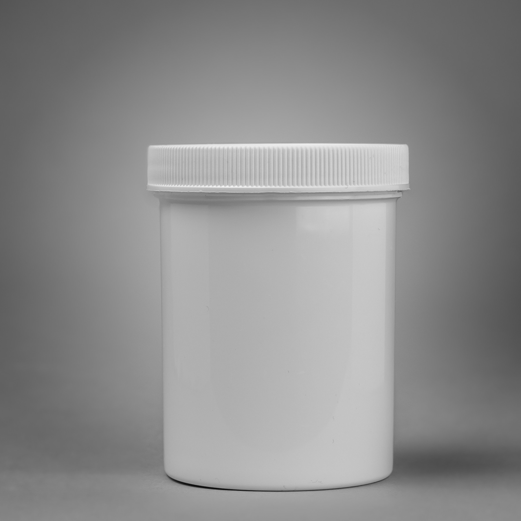 Bel-Art Screw Cap 236.6ml (8oz) Polypropylene Jars; 43mm Closure (Pack of 12)