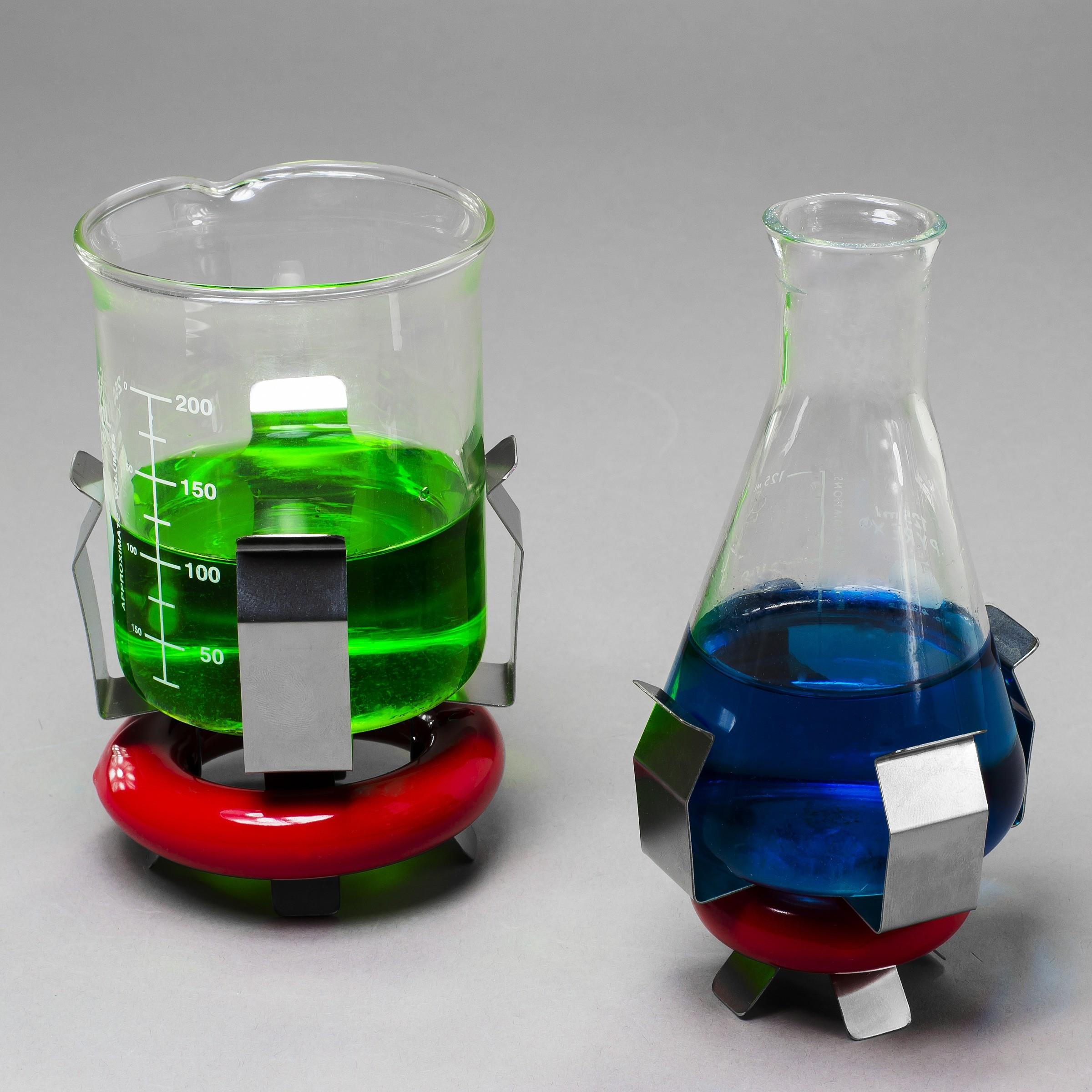 Weighted Beaker/Flask Holders with Vikem Vinyl Coating