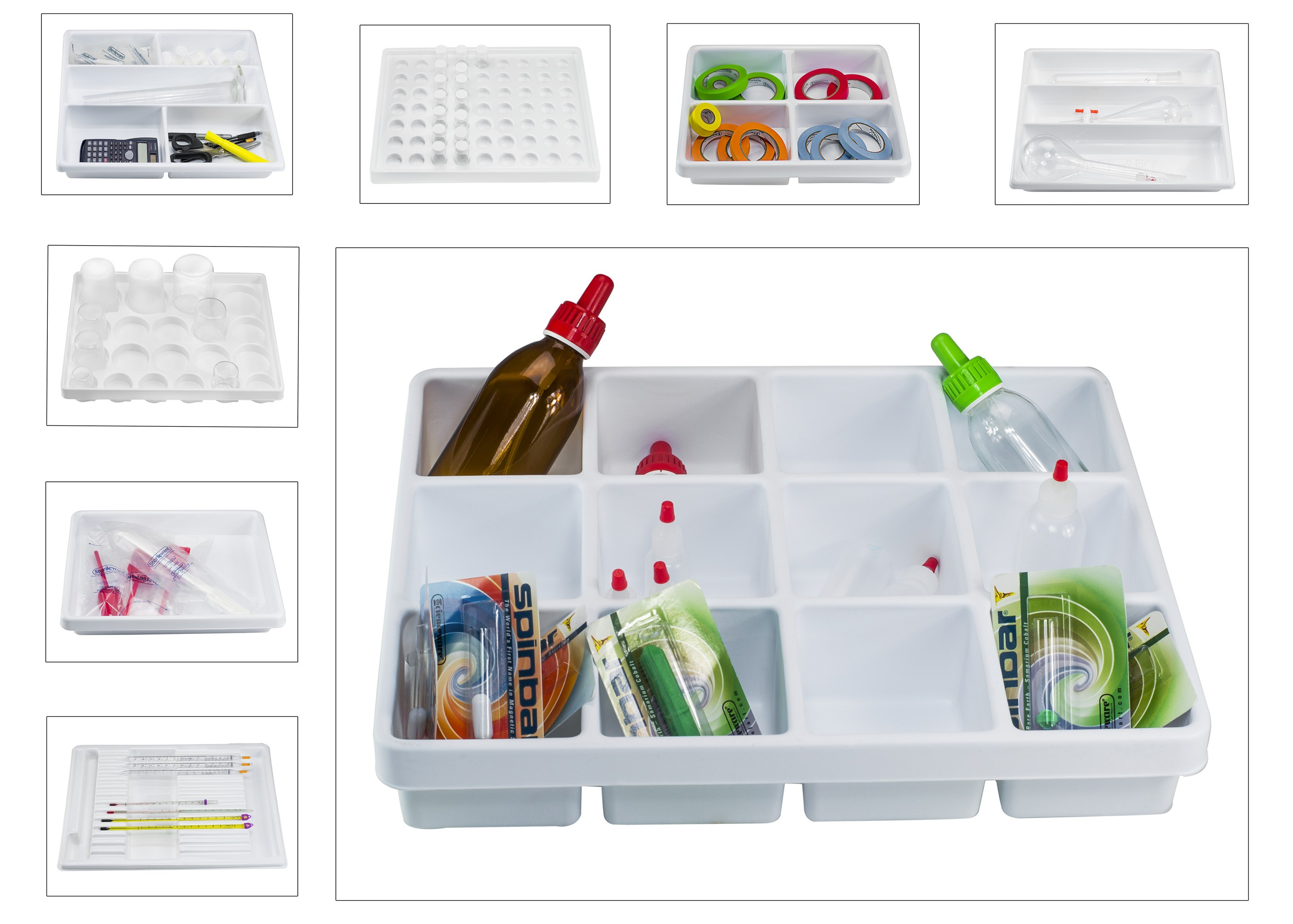 Lab Drawer Compartment Trays