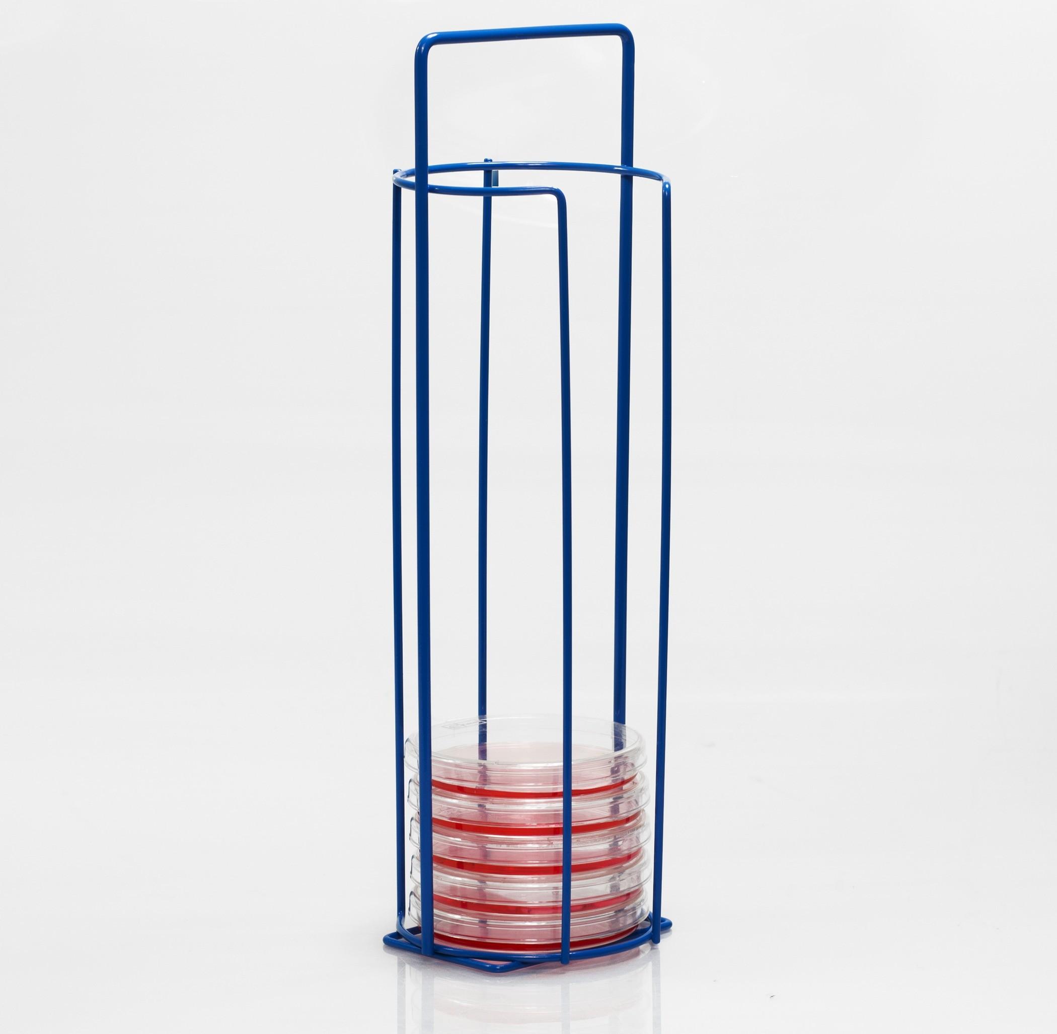 SP Bel-Art Poxygrid 100mm Petri Dish Carrying Rack; 15 Places