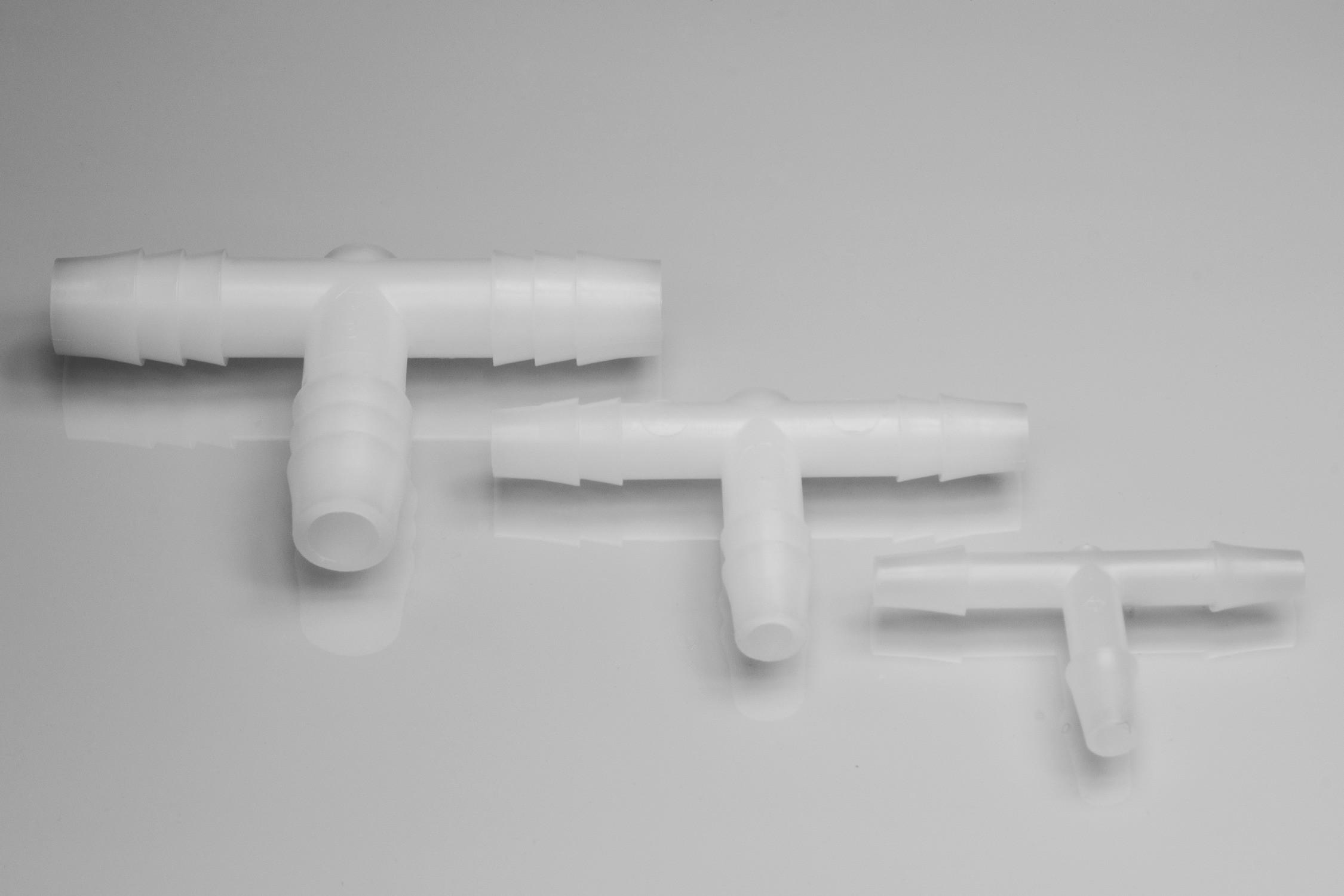 """T"" Shaped Tubing Connectors"