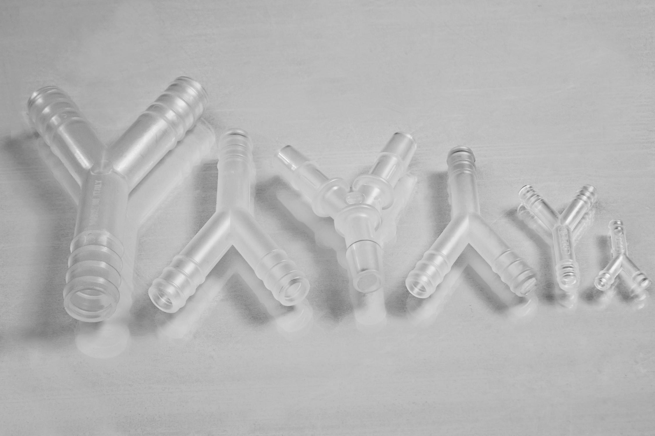 Wye (Y) Tubing Connectors