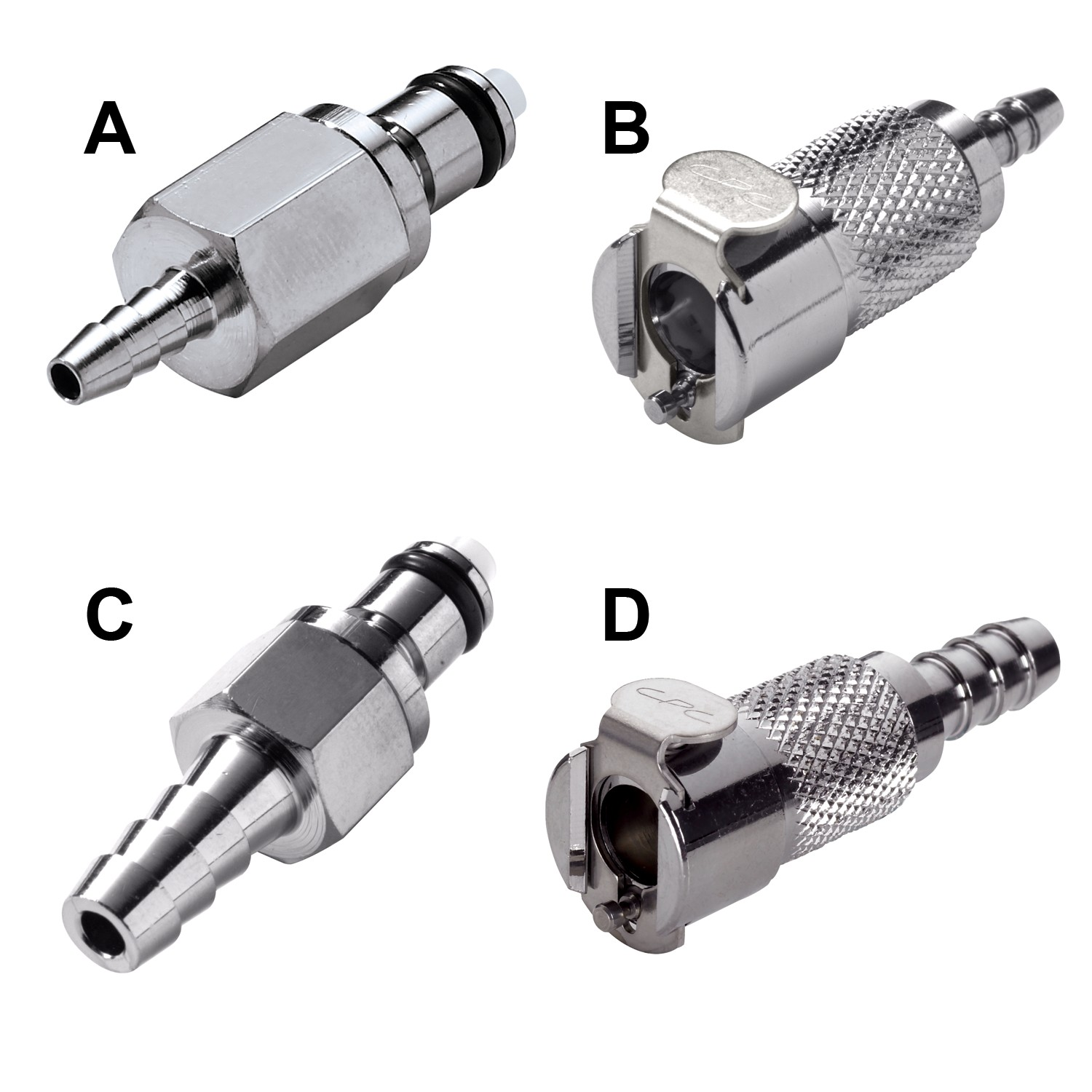 Colder Products Metal Quick Disconnect Male Coupling for ⅛ in. Tubing