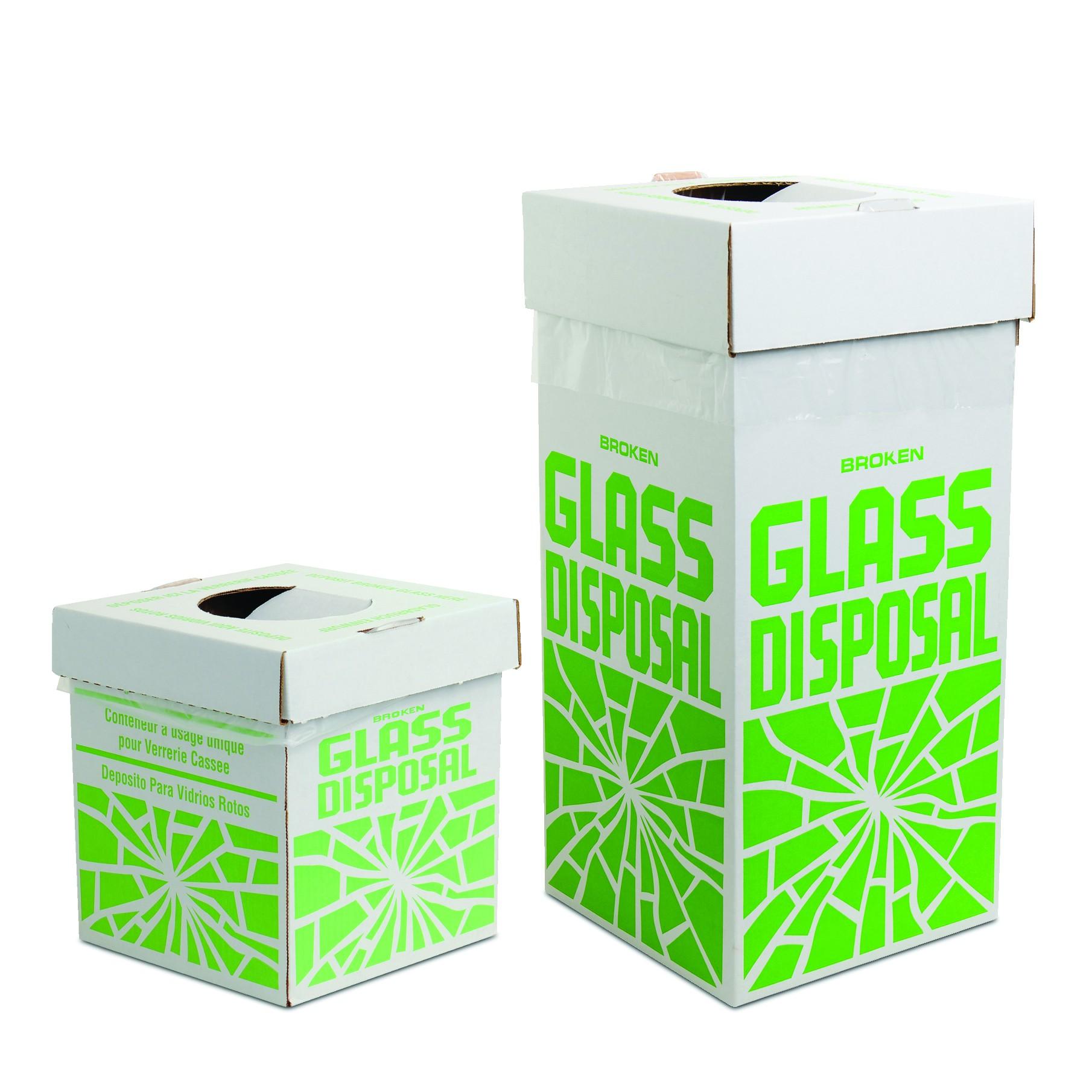 Disposal Cartons for Glass