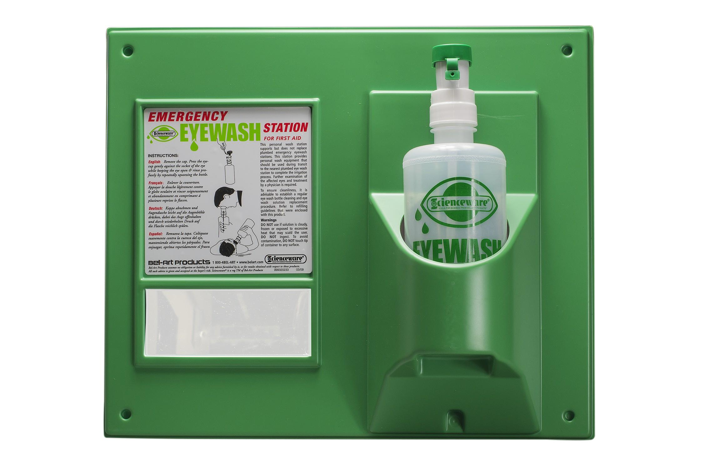 SP Bel-Art Emergency Eye Wash Safety Station; 1 Bottle, 1000ml