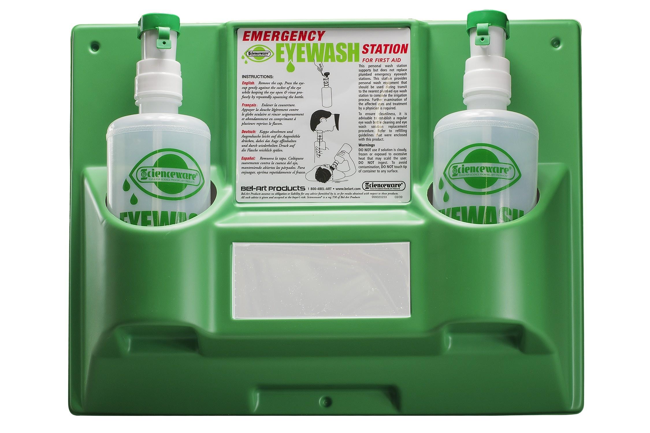 Emergency Eye Wash Safety Stations