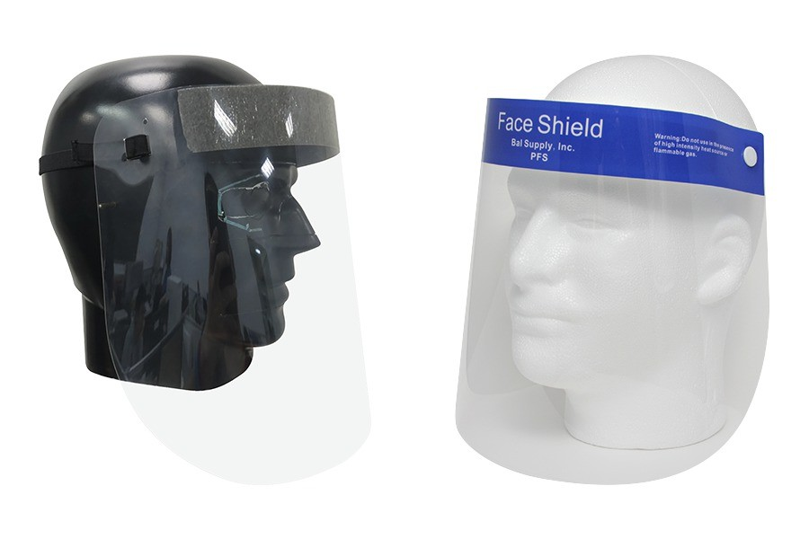 Full Coverage Face Shields with Anti-Fog