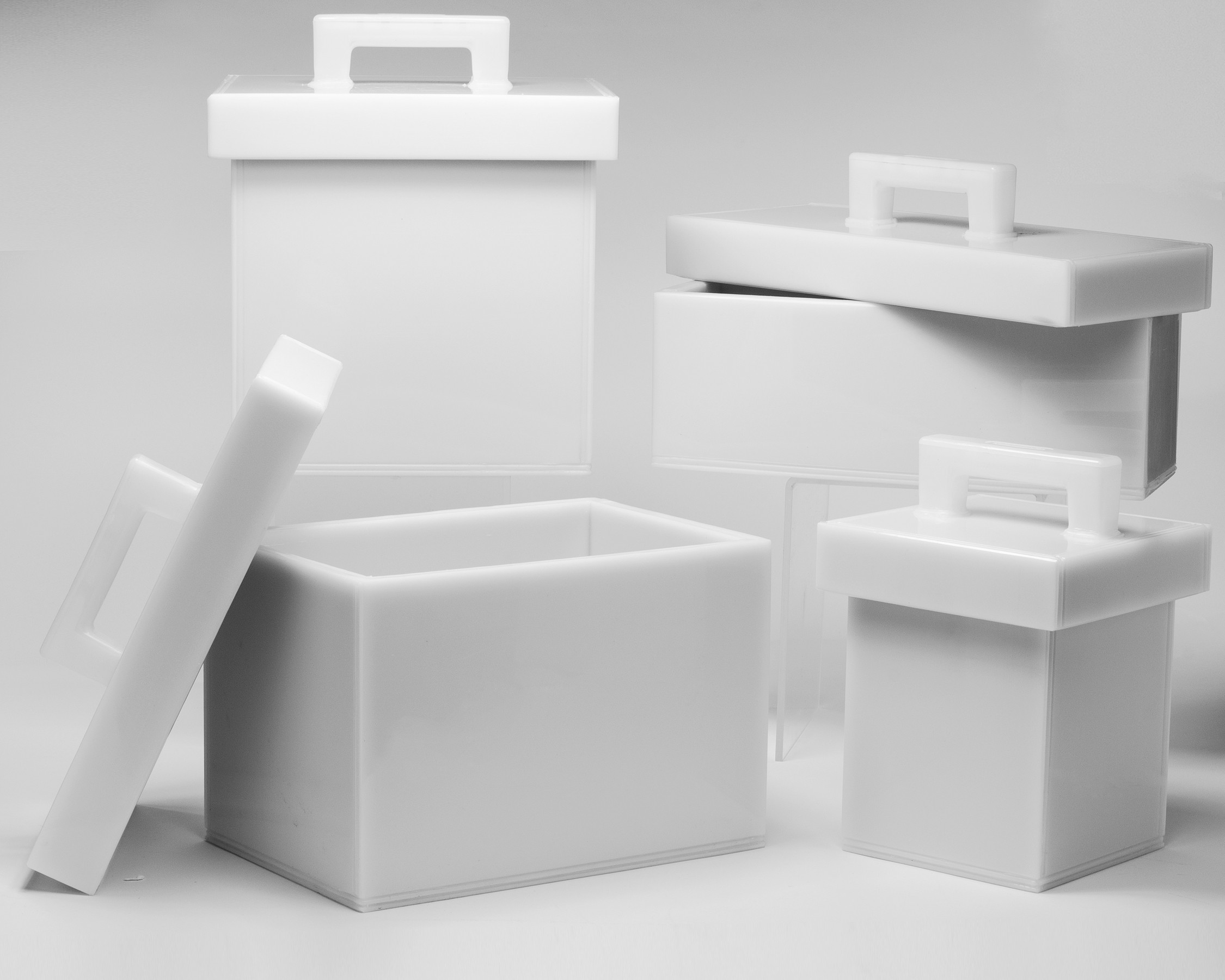 Lead Lined Polyethylene Storage Boxes
